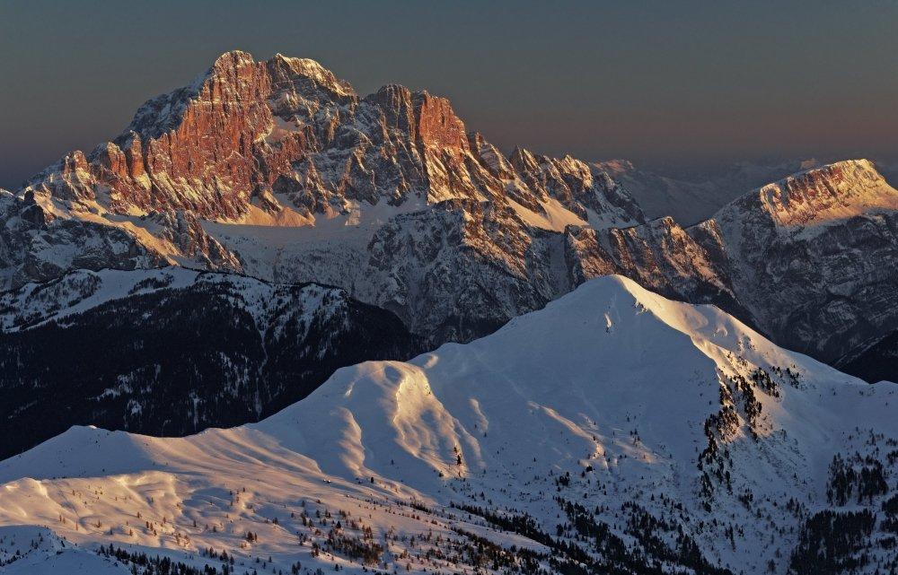 Monte Civetta visto dal Rifugio Lagazuoi