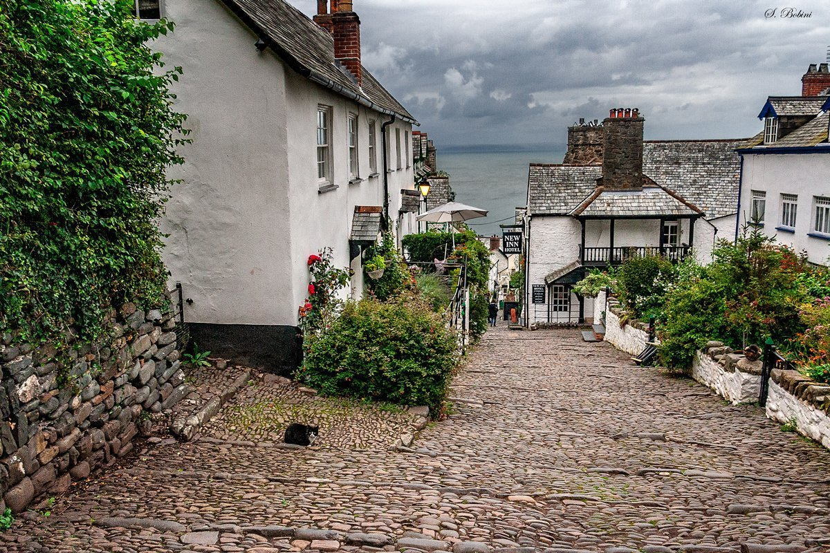 LA COSTA OVEST DEL REGNO UNITO: DAY 9 ,DA HAY ON WYE A CLOVELLY